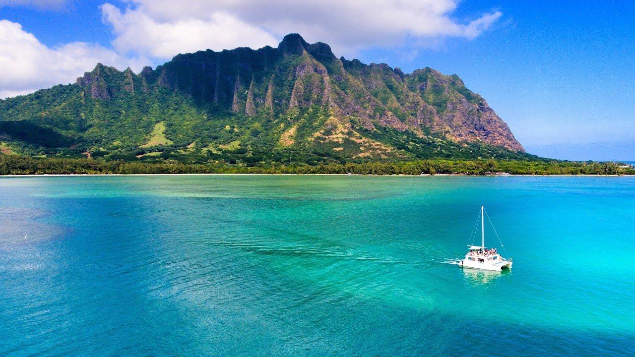 Hawaii, mélange d'orient et occident Image