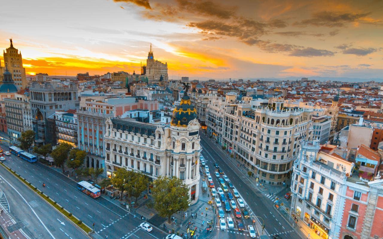 Madrid, une ville festive et riche d'émotions Image